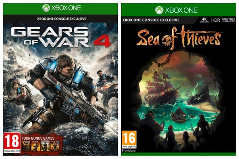 Sea Of Thieves + Gears of War 4