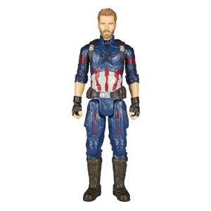 Hasbro Avengers Titan Hero Power FX Captain America Figure 12 Inch