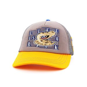 B180 Life Is A Risk Men's Cap Yellow/Grey/Blue