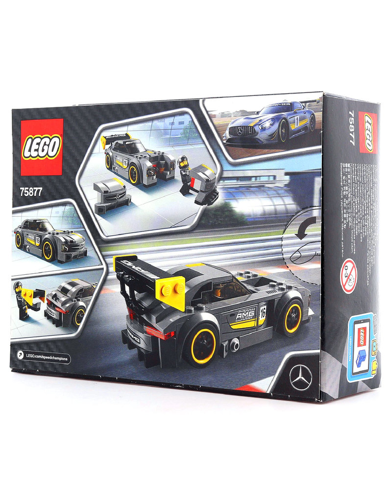 lego speed champions mercedes amg gt3 75877 building. Black Bedroom Furniture Sets. Home Design Ideas
