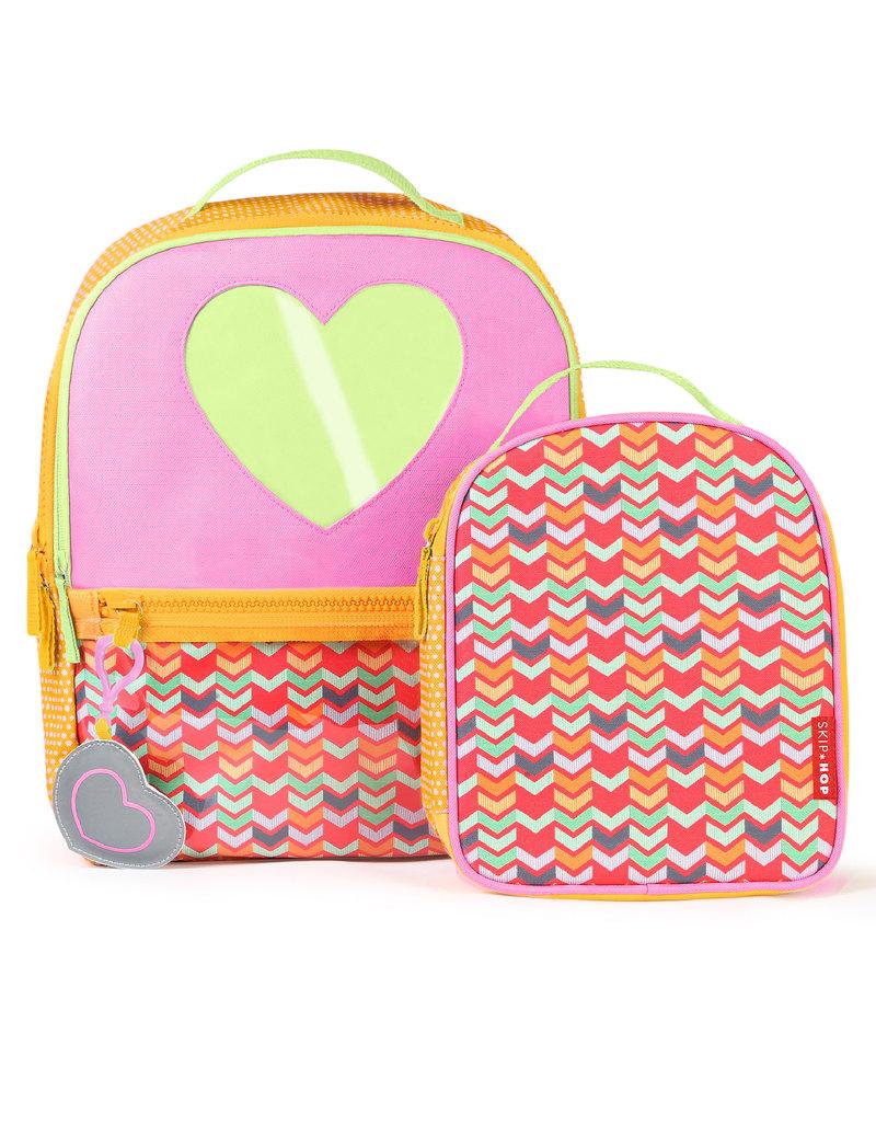 Skip hop forget me not heart kids backpack lunch bag backpacks jpg 800x1027 Heart  backpack 6b5976d915d3c