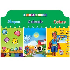 I Write Shapes Animals Colors Eng Big - Digital Future
