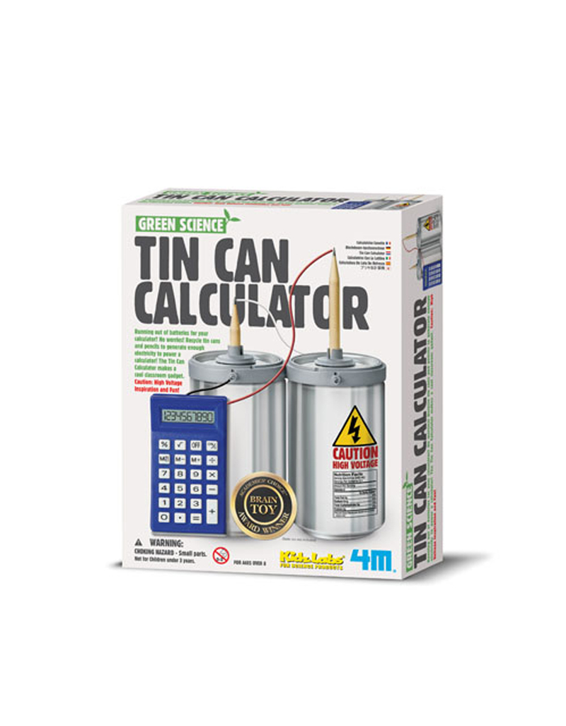 Green Science/Tin Can Calculator Science Kit