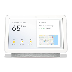 GOOGLE HOME HUB CHALK WITH GOOGLE ASSISTANT