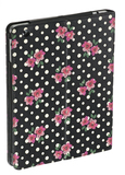Accessorize Polka Dot Floral Case W/Stand Ipad Retina
