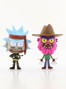 Funko Pop Rick & Morty Seal Rick & Scary Terry Vinyl Figures [2 Pack]