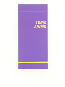 Knock Knock 7 Days A Week Planner Blue