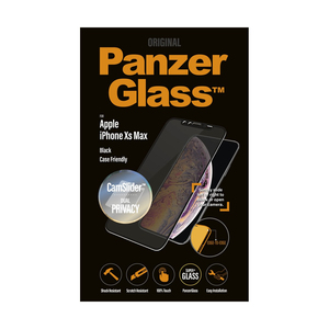 PanzerGlass Camslider Privacy CF Black for iPhone XS Max