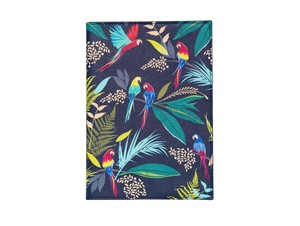 Sara Miller Parrot Fabric Journal A5