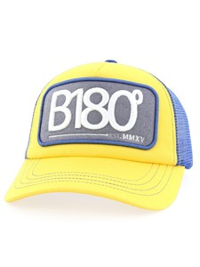 B180 Sign Unisex Cap Yellow-Blue Osfa