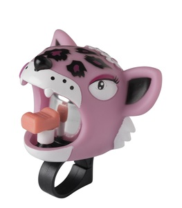 Crazy Safety Pink Leopard Bell
