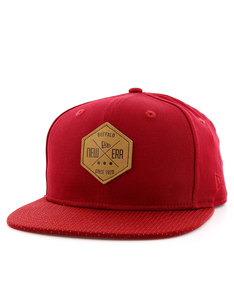 New Era Hex Patch Snap Cardinal Cap