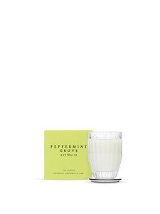 Peppermint Grove Coconut Grapefruit & Lime Candle 60g
