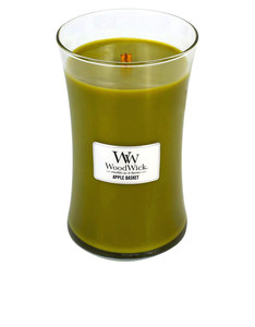 Woodwick Large Apple Basket Green Candle