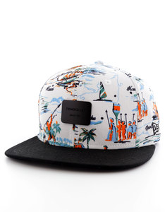 New Era Offshore Crown Patch White/Black Cap