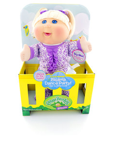 "Cabbage Patch Kids 12.5"" Pajama Dance Party Dolls"