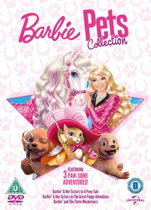 Barbie Pets Collection [3 Disc Set]