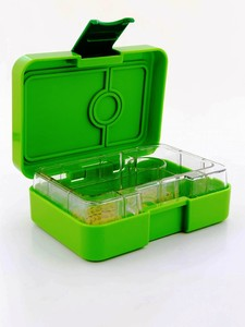 Yumbox Mini Snackbox Avocado Green [3 Compartments]