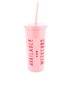 Ban.Do Available For Weekends Sip Sip Tumbler With Staw