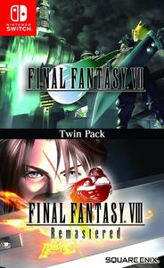 Final Fantasy VII and Final Fantasy VIII Remastered Twin Pack - Nintendo Switch