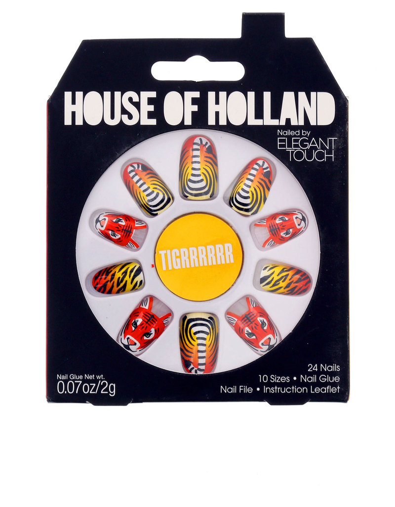 House Of Holland Nails By Elegant Touch - TIGRRRRRR