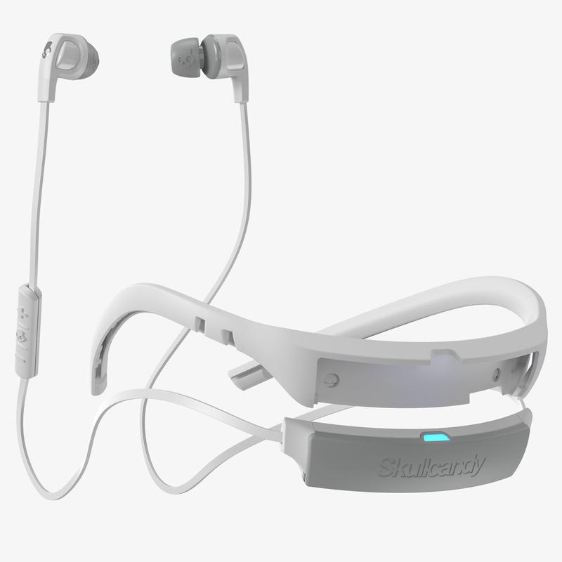 ... Skullcandy Smokin Buds Wireless White White Chrome Earphones c7ec51ceeefac