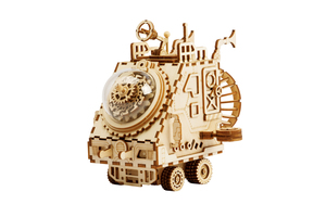 Robotime DIY Steampunk Music Box Spaceship