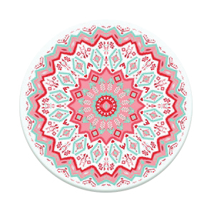 PopSockets Aztec Mandala Red Stand & Grip for Smartphones
