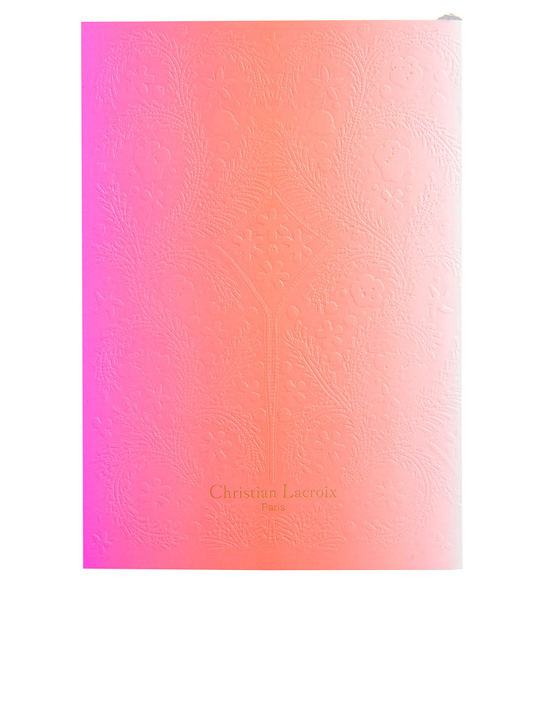 Christian Lacroix A5 Paseo Neon Pink Notebook