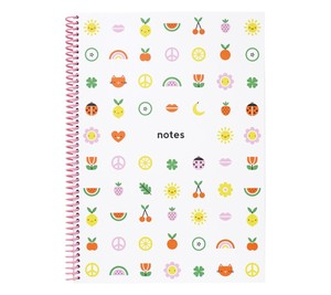 kikki.K A4 Spiral Everyday Notebook Cute 2019