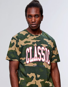 Cayler & Sons BL Worldwide Classic Tee Woodland Camo/White