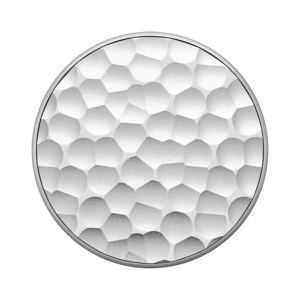 PopSockets Hammered Metal Silver PopGrip