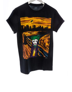 Changes The Joker Abstract Black Men's T-Shirt