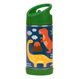 Petit Collage Stainless Steel Water Bottle Dinosaurs 350ml