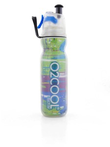 O2Cool Insulated Arcticsqueeze Mist 'N Sip Graffiti 590Ml Water Bottle