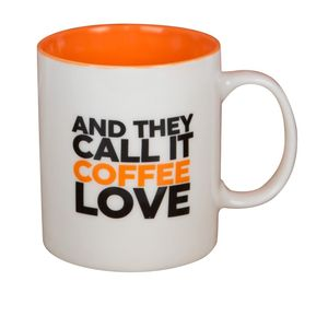 Harvey Makin Musicology And They Call It Coffee Love Mug