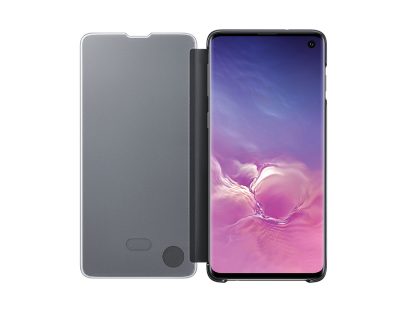 Samsung B1 Clear View Cover Black for Galaxy S10