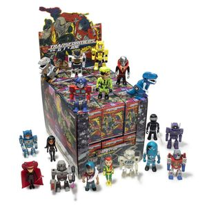 Kidrobot Transformers vs. G.I. Joe Mini Figures Series Blind Box [Includes 1]