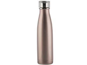 Built Double Walled Stainless Steel Water Bottle Rose Gold 500ml