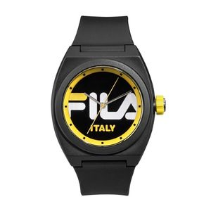 Fila Ladies Watch With Silicon Strap Black 42 mm (38-180-003)