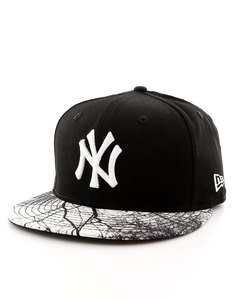 New Era Mlb Woodland NY Yankees Black/White Cap