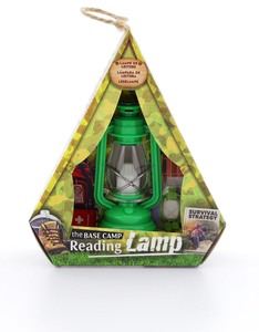 If Base Camp Reading Lamp Adventure Green