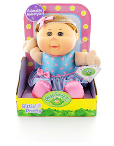 "Cabbage Patch Kids 12"" Sitting Pretty Doll"