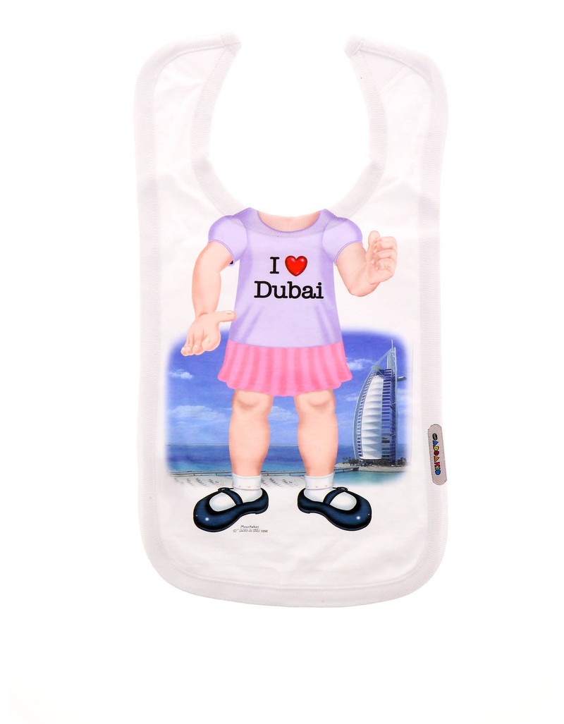 Add A Kid Dubai Girl Bib 1050-Bib