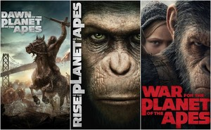 Planet Of The Apes Trilogy [3 Disc Set]