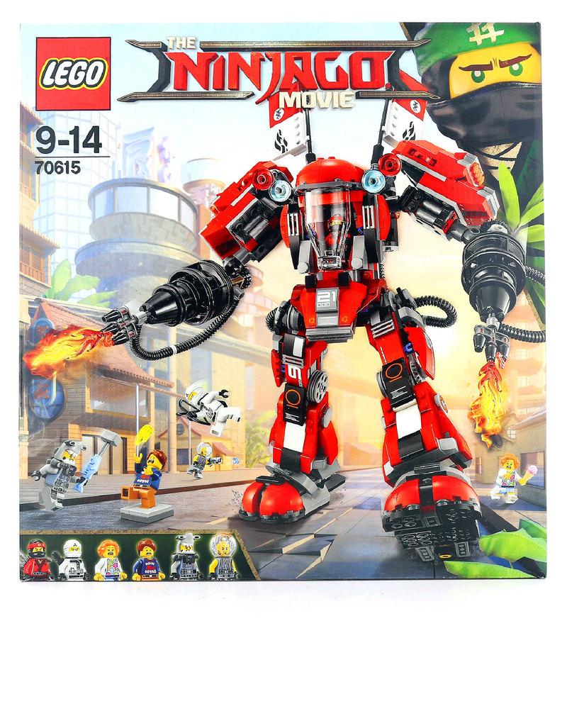 Lego Ninjago Movie Fire Mech 70615 Building Blocks Science