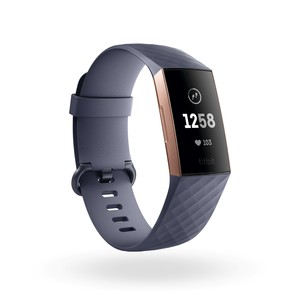 FITBIT CHARGE 3 ROSE GOLD/BLUE GREY ACTIVITY TRACKER