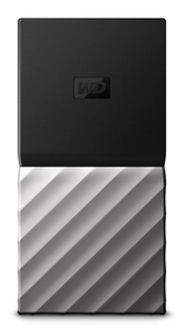 WESTERN DIGITAL MY PASSPORT 256GB BLACK/SILVER SSD