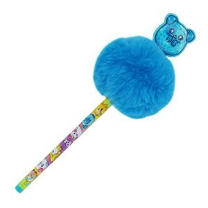 Pikmi Pops Ballpen with Pom-Pom & PVC Patch