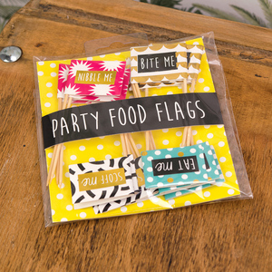Really Good Deck Chair Nibble Party Food Flag Pack